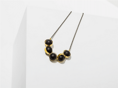 Larissa Loden Alignment Necklace - Black