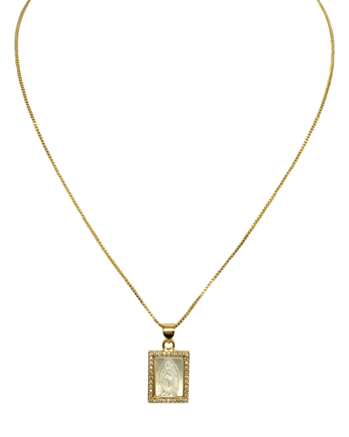 MARRIN COSTELLO DAWNE NECKLACE — GOLD