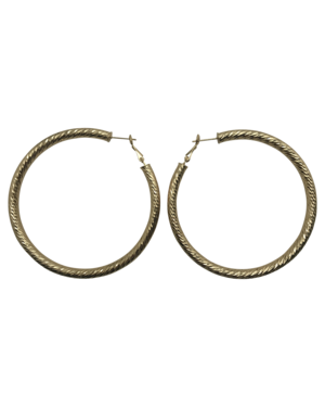 Marrin Costello Tev Hoop - Gold 2.5""