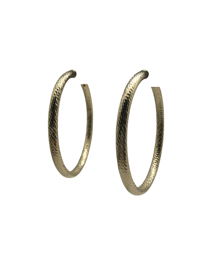 Marrin Costello Tev Hoops - Gold 2""