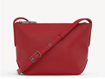 Matt & Nat SAM Crossbody- Small- Red Dwell Collection