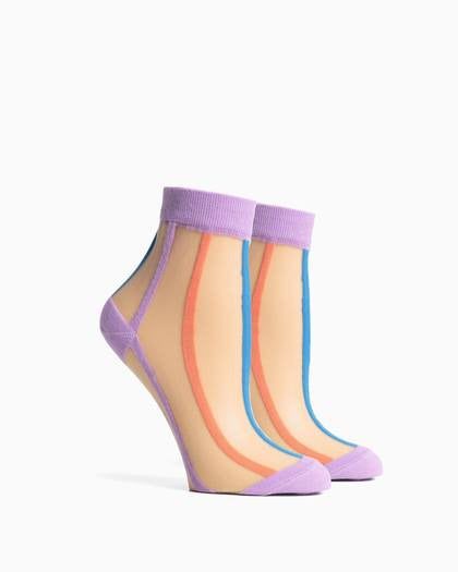 Women's Tasha Socks - Lilac Multi