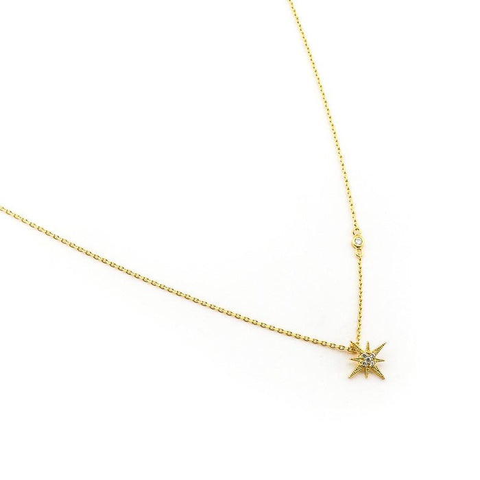 TAI CZ STARBURST PENDANT NECKLACE