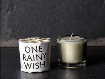 Tatine One Rainy Wish Candle 2oz