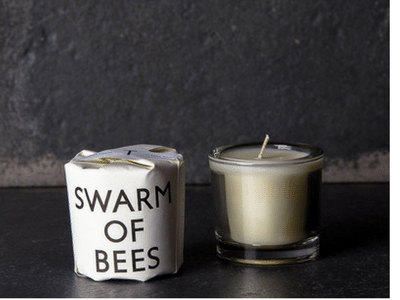 Tatine Swarm of Bees Votive Candle 2oz