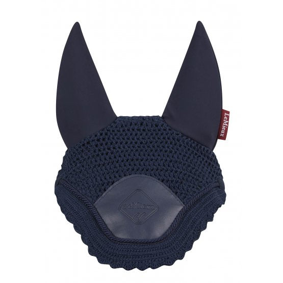 LeMieux Acoustic Pro Fly Hood Black/Navy/Brown