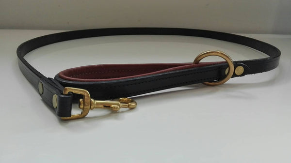 Padded Solid leather Dog Lead
