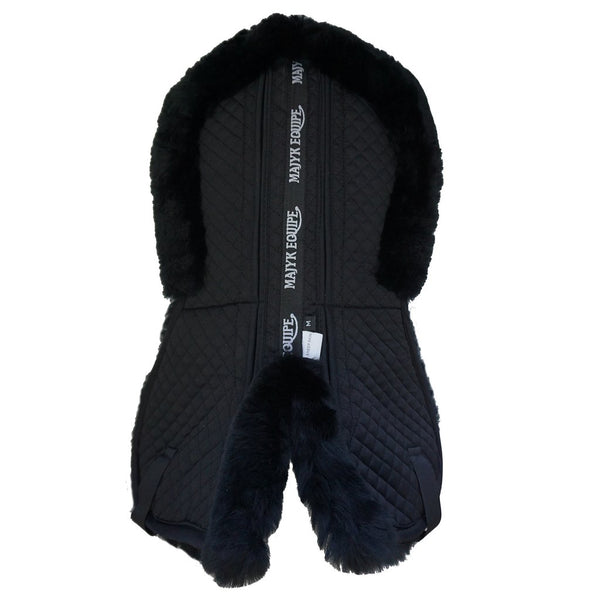 Ergonomics Full Fleece Half Pad with Shims  Black