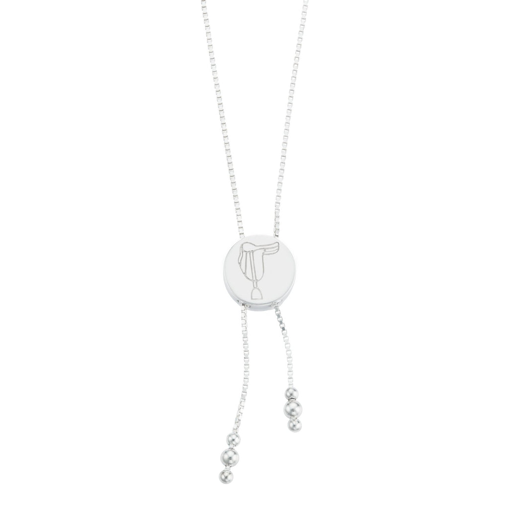 BREEZE SADDLE LARIAT NECKLACE