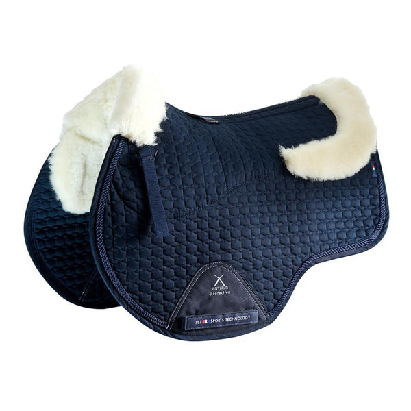Merino Wool European Saddle Pad - GP/Jump Square 4 Colours Available !