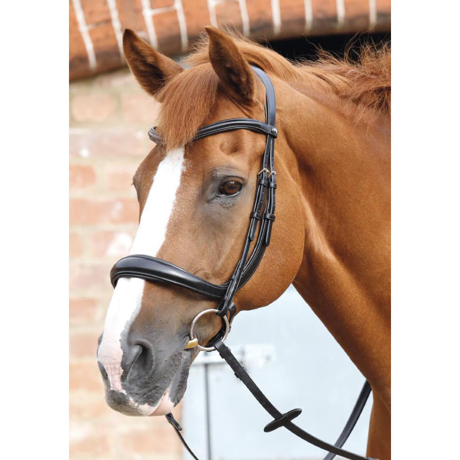 Lambro Anatomic Bridle with Crank Noseband