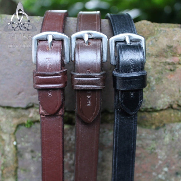 Bliss Leather Reins with stoppers