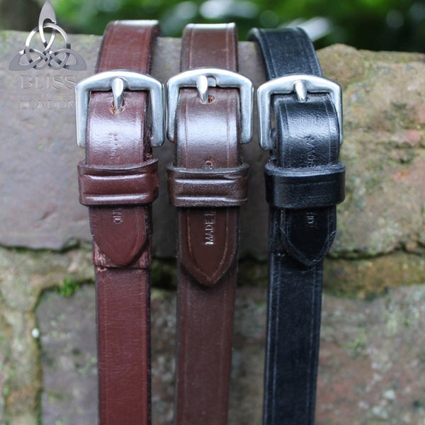 Bliss Plain Leather Reins