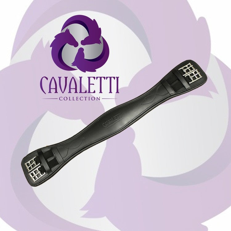 Cavaletti Vogue Dressage Girth Black or Brown