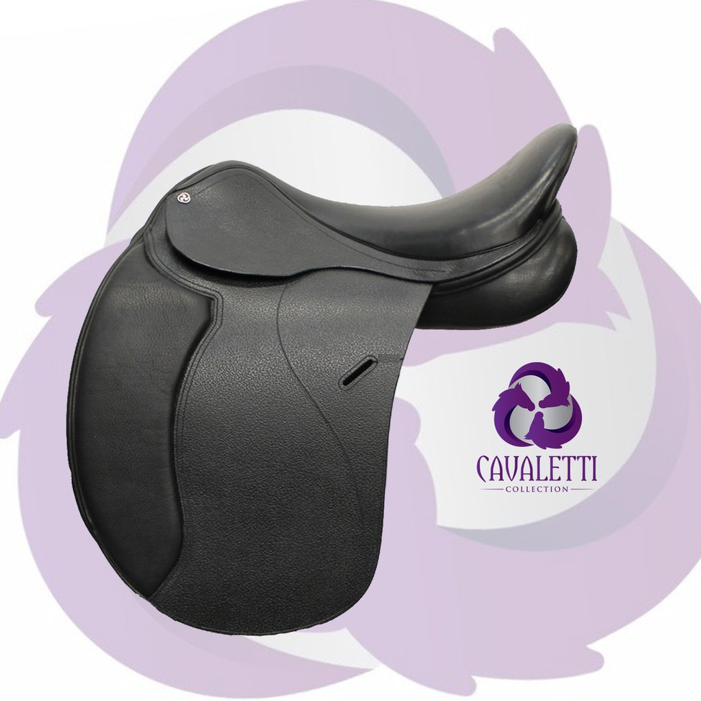Cavaletti Collection Synthetic Dressage Saddle