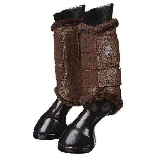 Le Mieux Fleece Lined Brushing Boot - 3 colours, black, white and brown