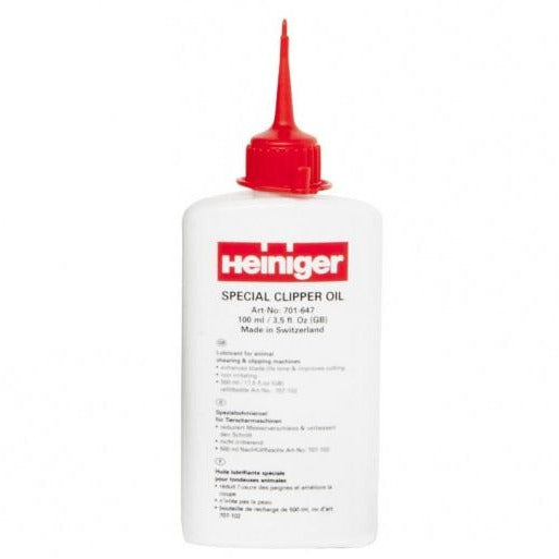 Heiniger clipper oil