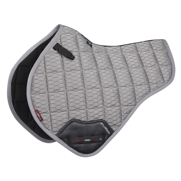 Carbon Mesh Close Contact Half Square Grey