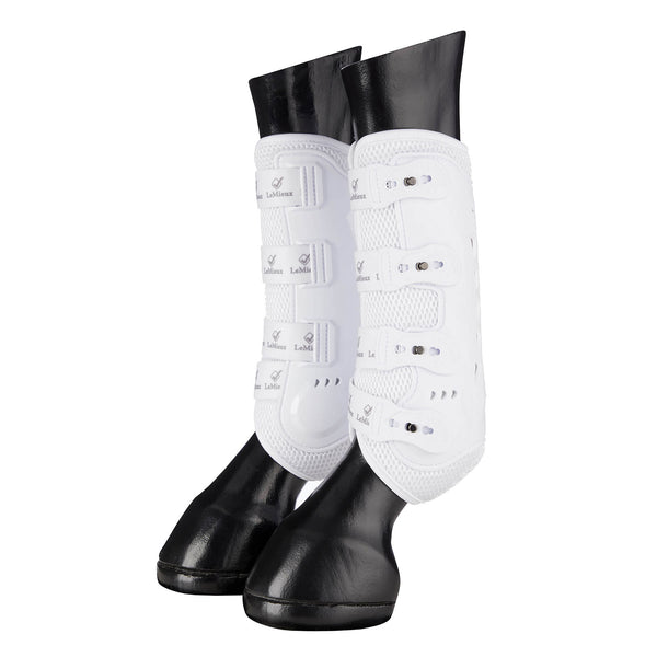 LeMieux Snug Boot Pro White (Pair)