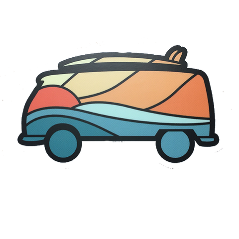 Camper Van Decal