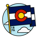 Co Flag Decal
