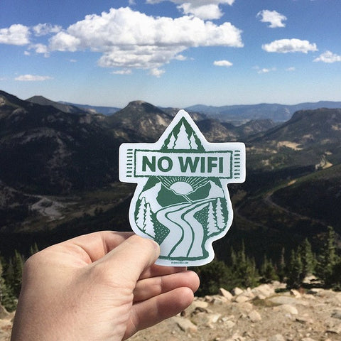 No Wifi Decal