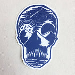 Skull Landscape Decal