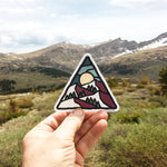 Triangle Mountain Decal