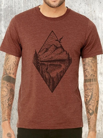 River Mountain Forest Tee