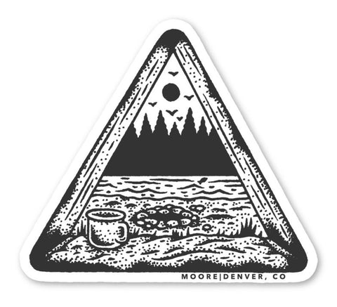 Tent View Sticker
