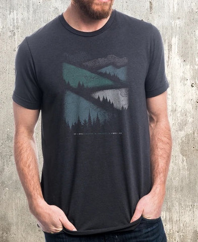 Mountain Roads Tee