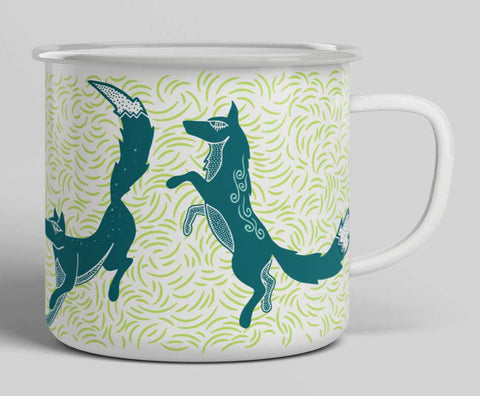 Foxes Camp Mug