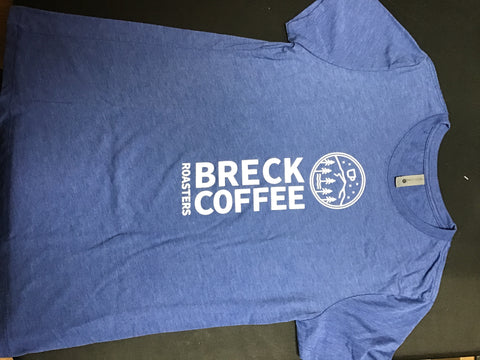 Breck Coffee - Blue T-Shirt