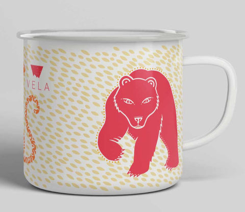 Lions, Tigers, and Bears Camp Mug