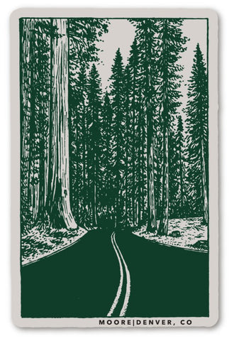 Redwoods Sticker