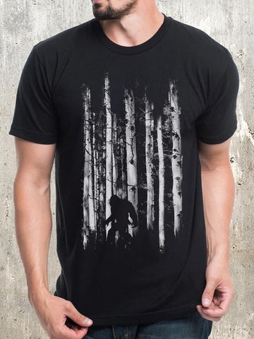 Bigfoot in the Forest Tee