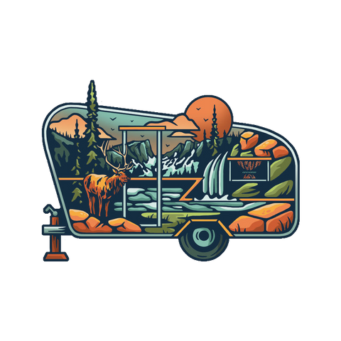 Mountain Camper Decal