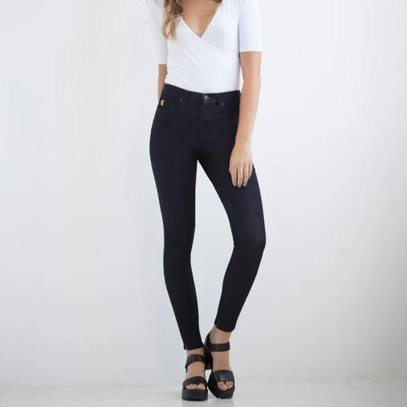 Second Yoga Jeans - Classic Rise Rachel Skinny Jeans in Prague Made in Canada All Things Being Eco