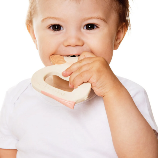 Hevea - Kawan Teether All Things Being Eco Chilliwack Sustainable Natural Rubber Teething Toys