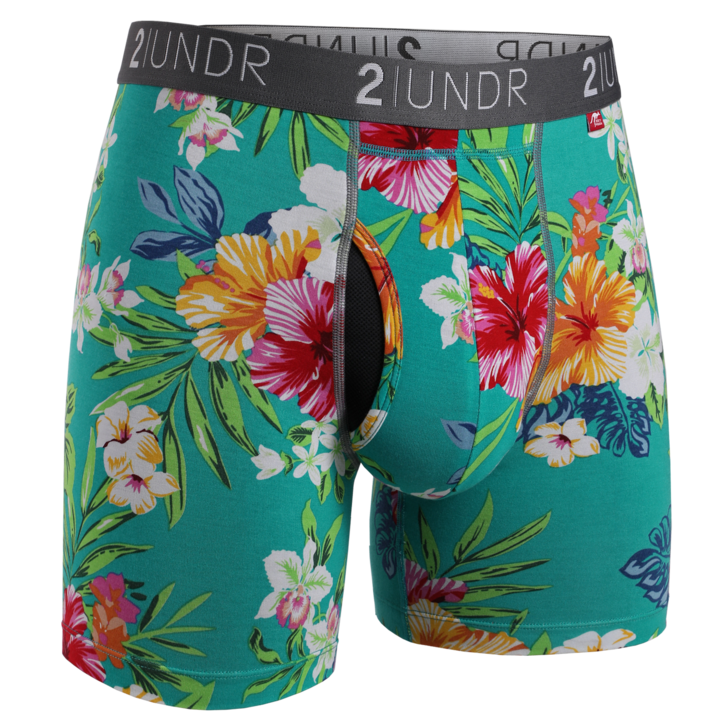 2UNDR - Printed Swing Shift Boxer Turks All Things Being ECo Chilliwack Men's Clothing Store