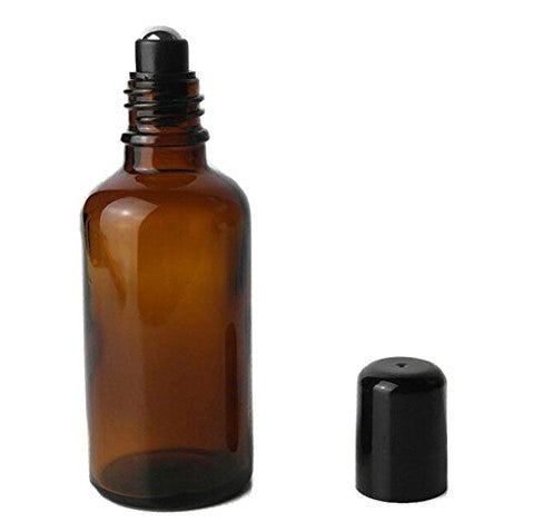All Things Being Eco - 30ml Amber Glass Roll On Bottle