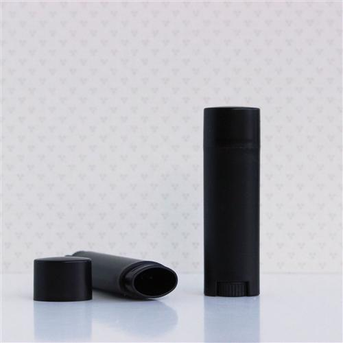 All Things Being Eco  .15oz Lip Balm Flat Tube Black