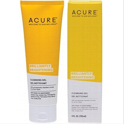 Acure - Brightening Facial Cleansing Gel Cruelty Free Skin Care