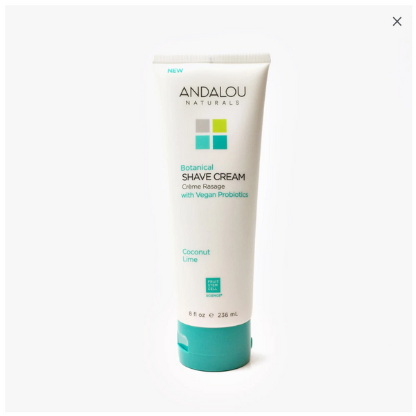 Andalou Naturals - Botanical Shave Cream - Coconut Lime