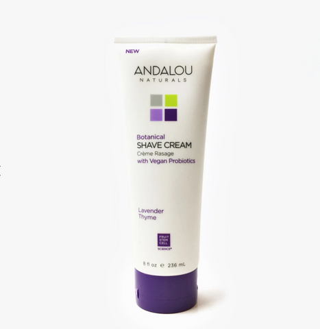 Andalou Naturals - Botanical Shave Cream - Lavender Thyme