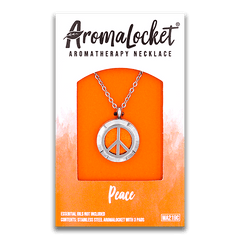 AromaLocket - Aromatherapy Locket Mini Peace All Things Being Eco