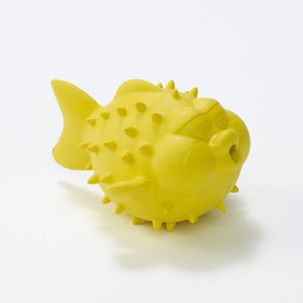 BeginAgain - Bathtub Pal Puffer Fish Rubber Bath Beach Pool Toy