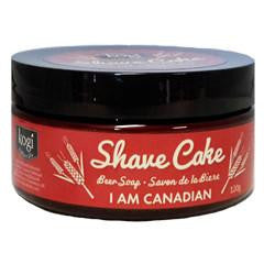 Kogi Naturals Shave Cake in Jar I am Canadian