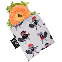 Colibri Beavers Reusable Large Snack Bags
