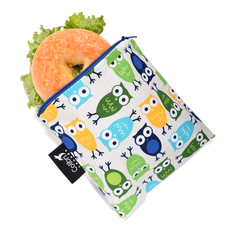 Colibri Owls Reusable Large Snack Bags Zero Waste Chilliwack